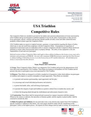 USAT Rules